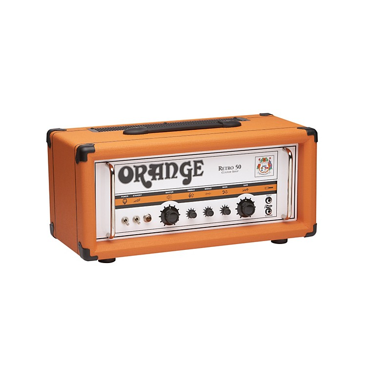 Orange Amplifiers Vintage Series Retro 50 50W Tube Guitar Amp Head