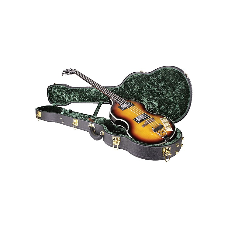 Musician's Gear Vintage Violin Bass Case Black
