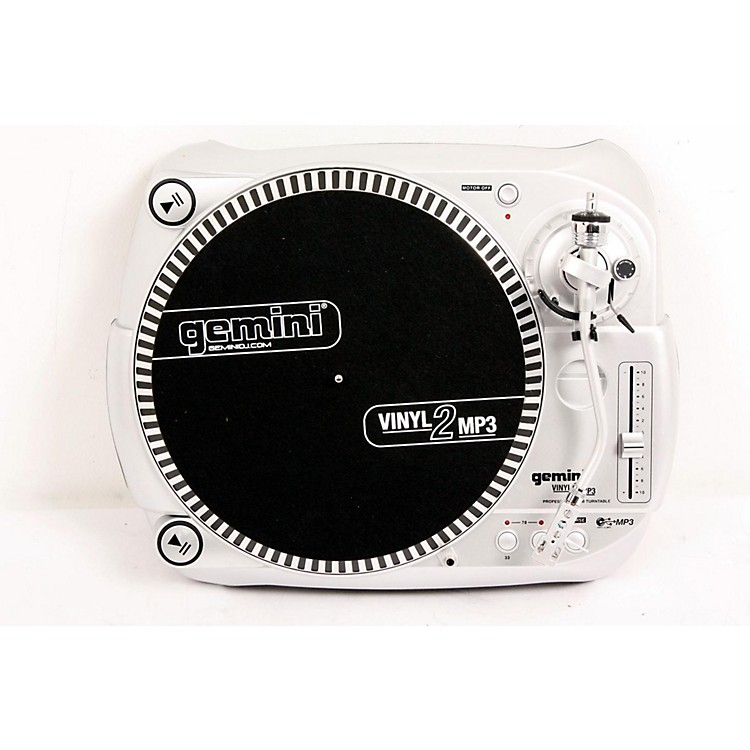 Gemini Vinyl2MP3 USB Turntable Regular 886830365294