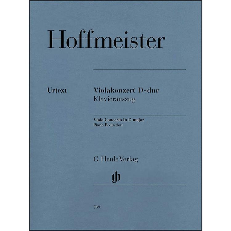 G. Henle VerlagViola Concerto D Major By Hoffmeister
