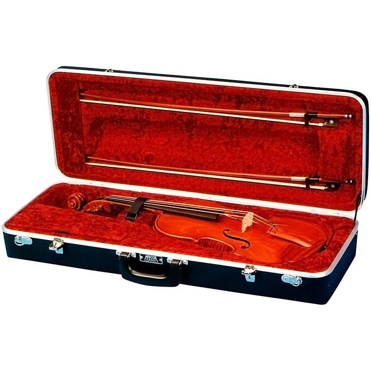 Hiscox CasesViolin Case RectangularBlack Shell, Red Interior