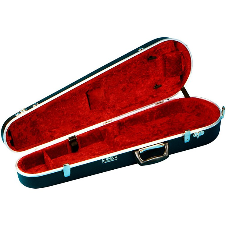 Hiscox Cases Violin Case Shaped Black Shell/Red Int