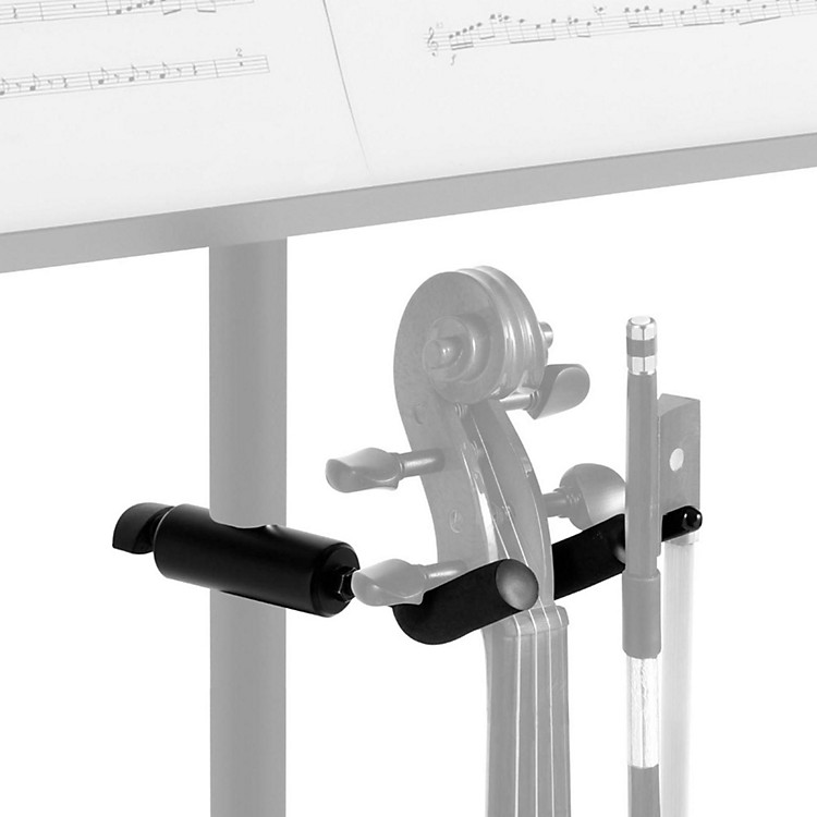 On-Stage Stands Violin Hanger for Music Stands Black
