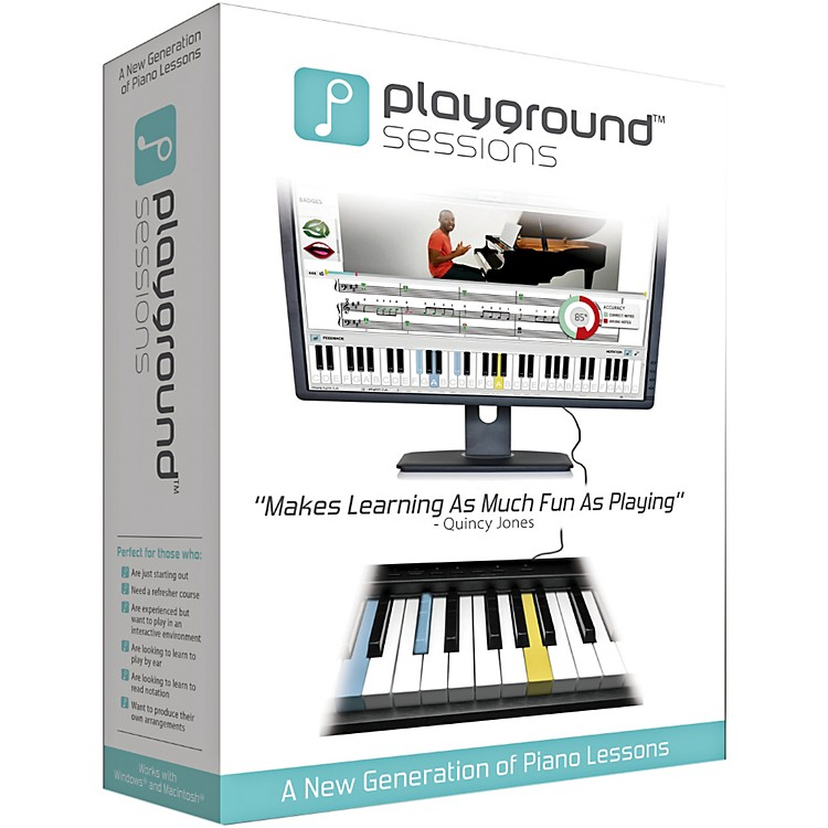Playground Sessions Virtual Piano Lessons PC/Mac Software Download Software Download