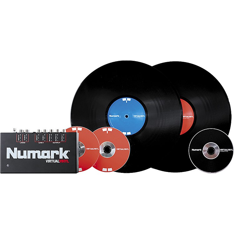 Numark Virtual Vinyl DJ Hardware and Software Interface