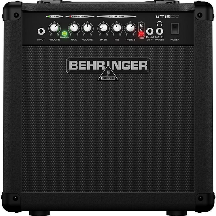 BehringerVIRTUBE VT15CD 15W 1x8 Guitar Combo Amplifier