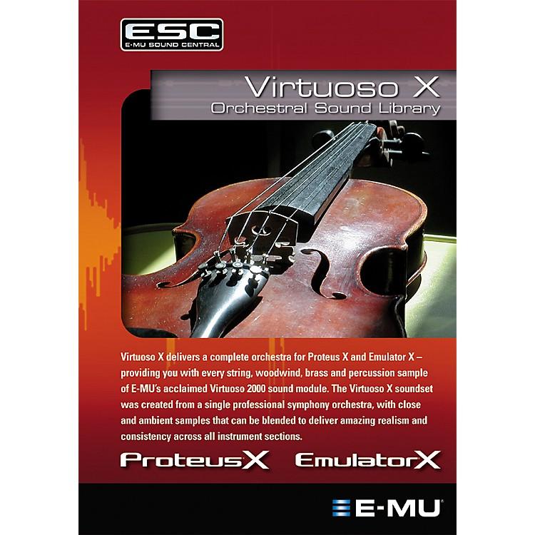 E-MuVirtuoso X Orchestral Sound Library