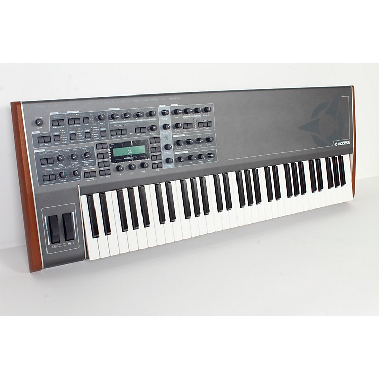 Access Virus TI v2 Keyboard Total Integration Synthesizer and Keyboard Controller Black 888365832760