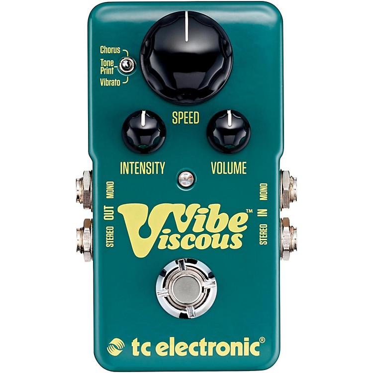 TC ElectronicViscous Vibe Univibe Guitar Effects Pedal