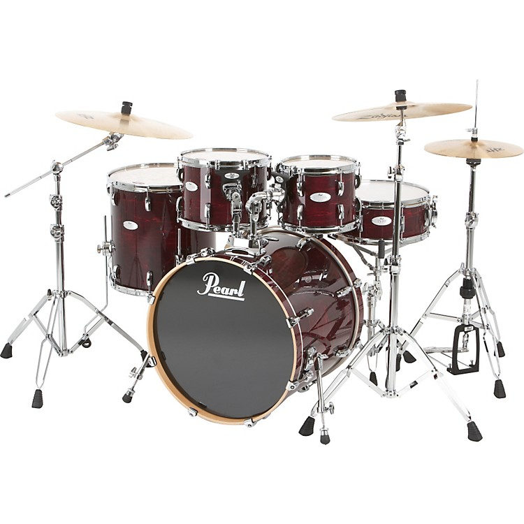 Pearl Vision Maple Lacquer Fusion Shell Pack Sangria