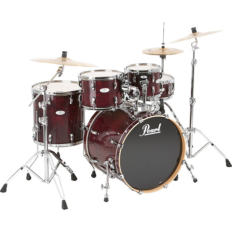 Pearl Vision Maple New Fusion Shell Pack Sangria