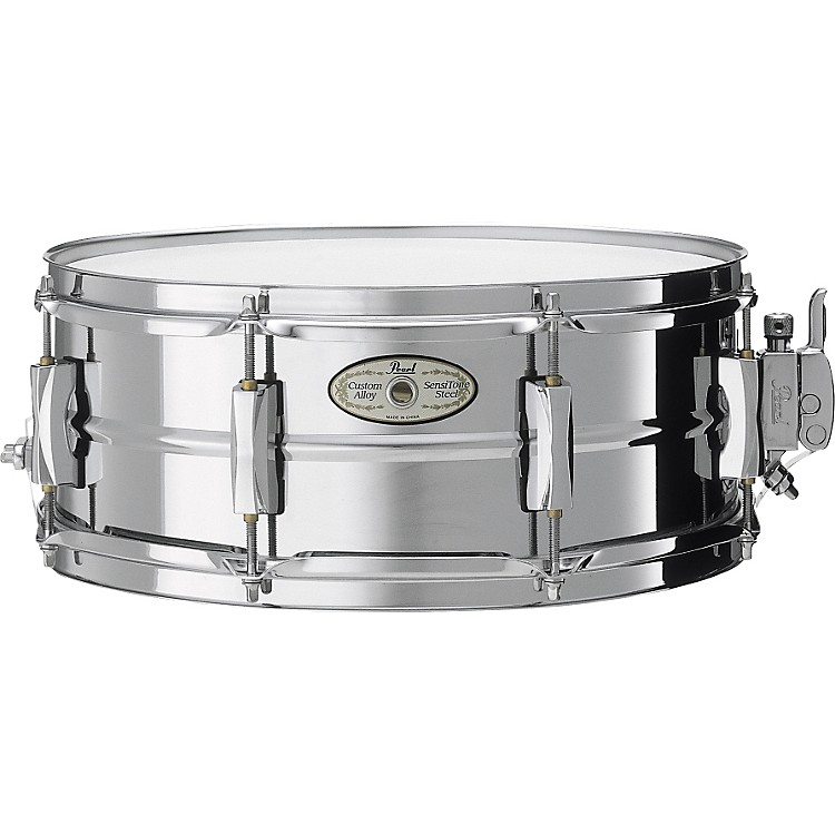 Pearl Vision SensiTone Steel Snare Drum 14 x 5.5 in.