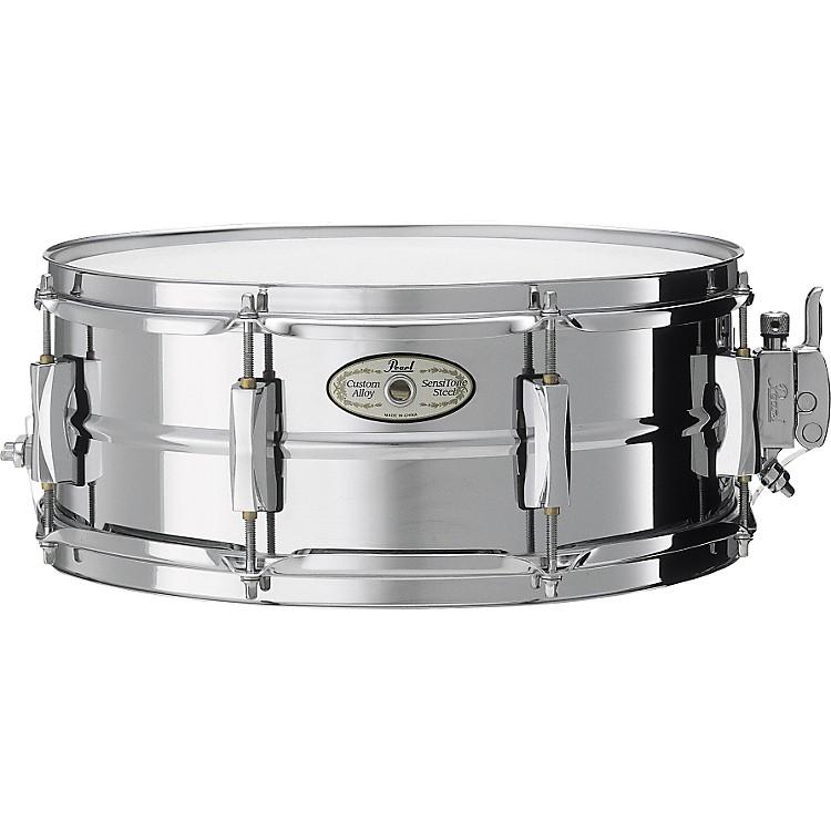PearlVision SensiTone Steel Snare Drum14X5.5