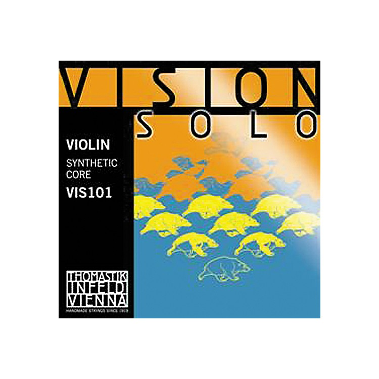 Thomastik Vision Solo 4/4 Size Violin Strings 4/4 Size Set with Silver D String