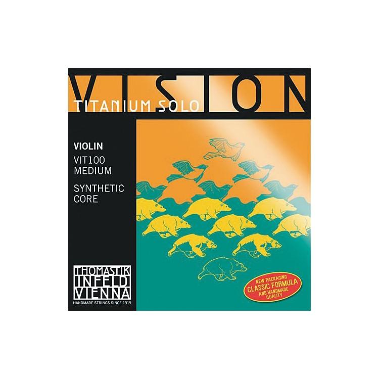 ThomastikVision Titanium Solo Violin Strings