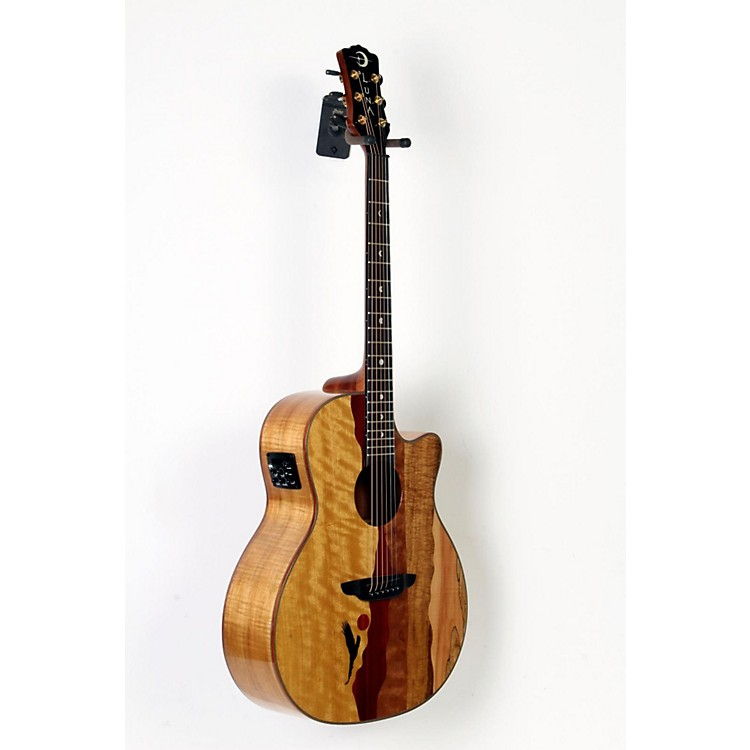 Luna Guitars Vista Eagle Koa Back and Sides Acoustic-Electric Guitar  888365744889