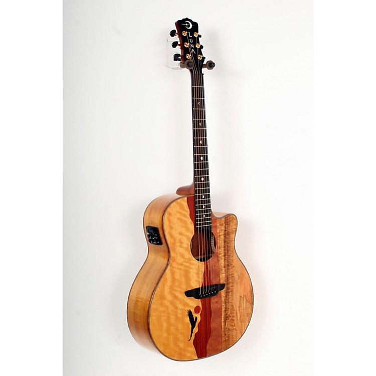 Luna GuitarsVista Eagle Koa Back and Sides Acoustic-Electric Guitar888365786766