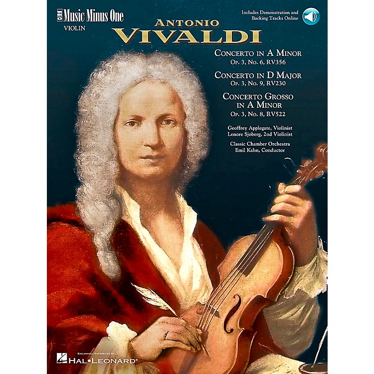 Hal LeonardVivaldi Concerti Opus 3, nos 6 8 and 9