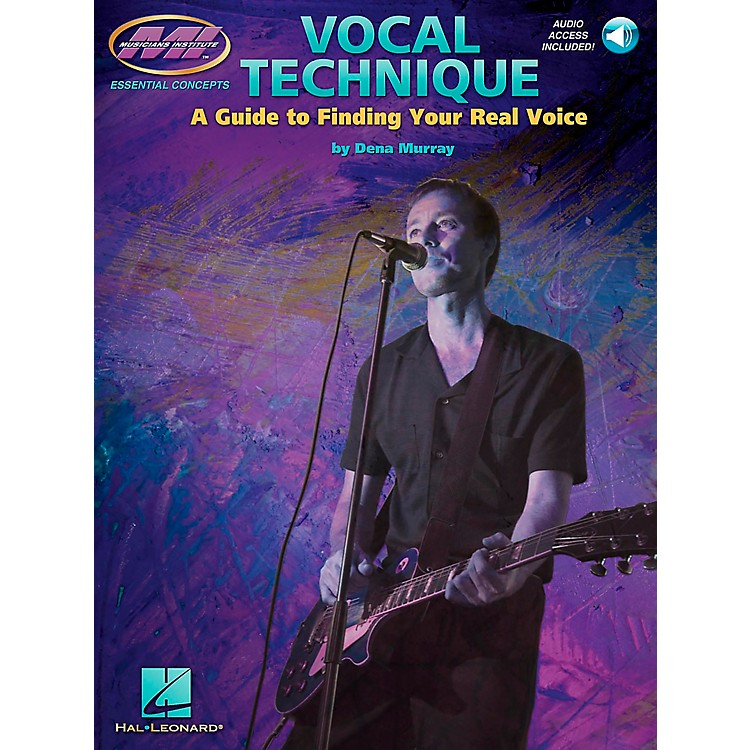 Musicians Institute Vocal Technique (Book/CD)