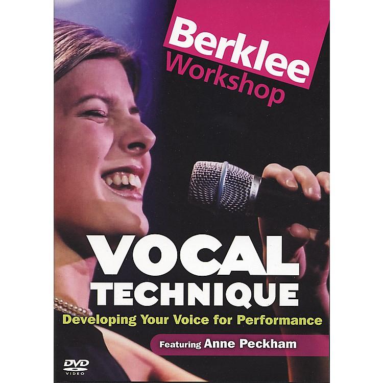 Berklee PressVocal Technique for Performance (DVD)