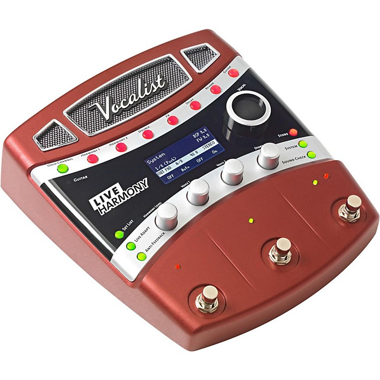 DigiTechVocalist Live Harmony Guitar Effects Processor Pedal