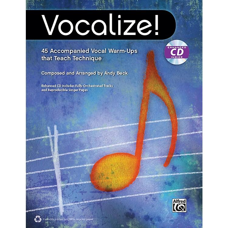AlfredVocalize!  (Book/CD)
