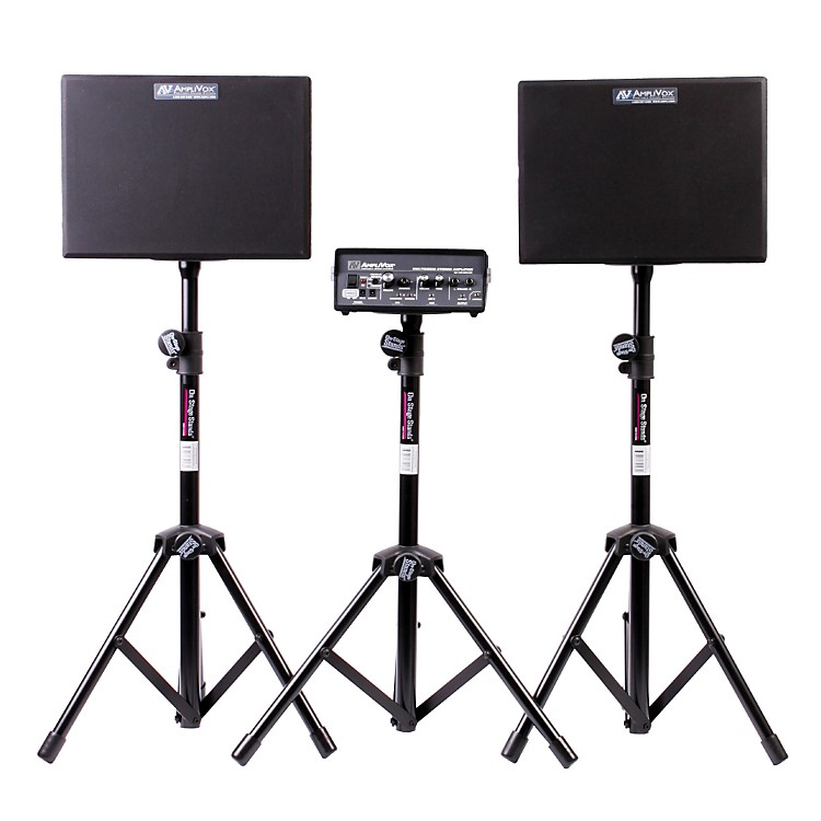 Amplivox Voice Carrier Portable PA System Black