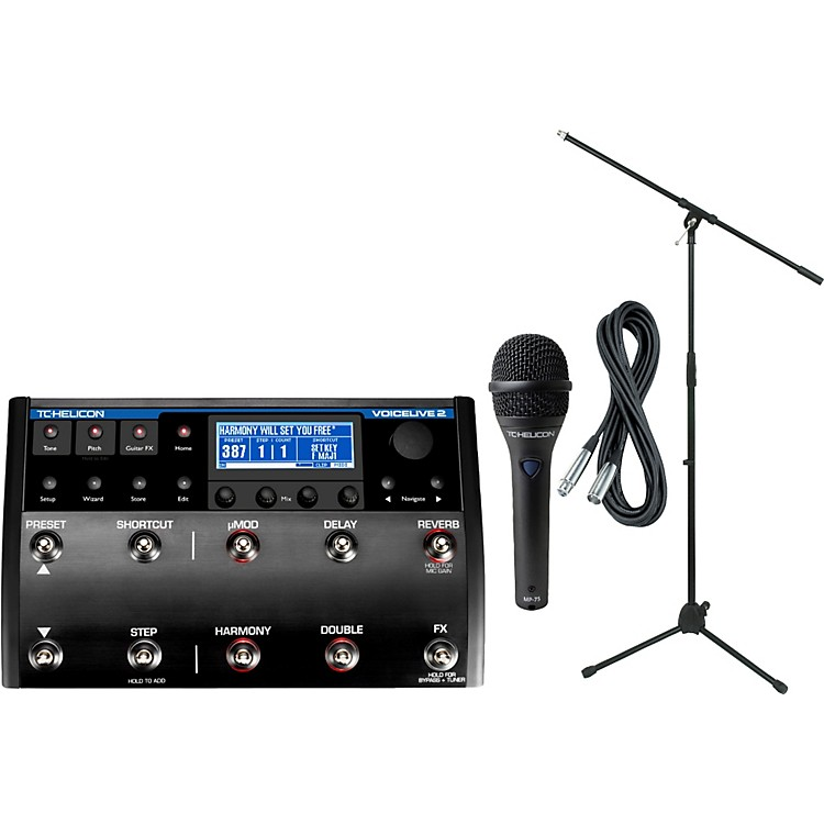 TC Helicon VoiceLive 2 with MP-75 Mic