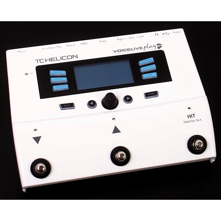 TC Helicon VoiceLive Play GTX Guitar/Vocal Harmony and Effects Pedal with Sennheiser e 835 fx Microphone Regular 888365097503