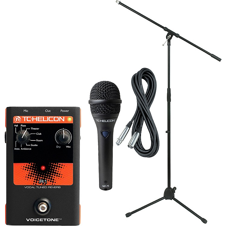 TC HeliconVoiceTone R1 with MP-75 Mic