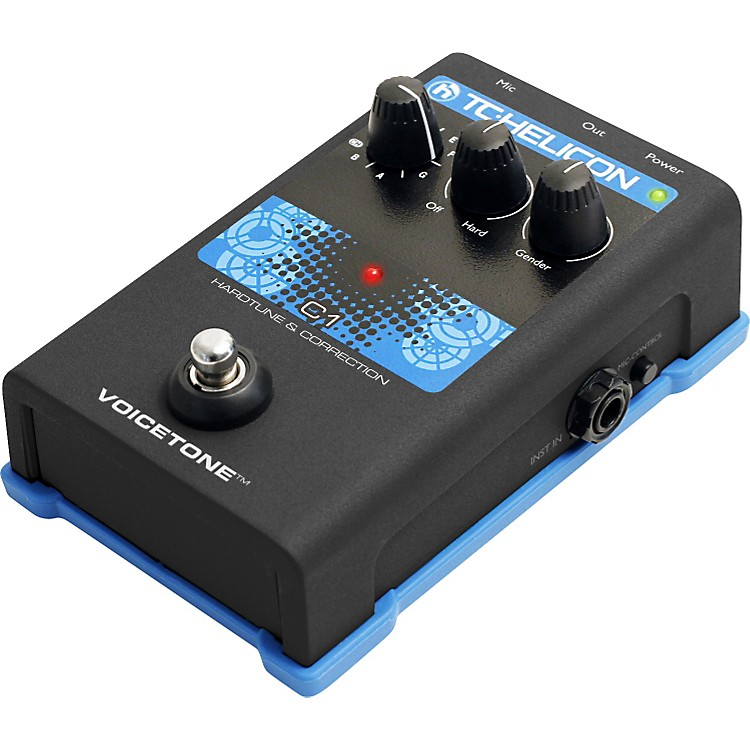 TC Helicon VoiceTone Single C1 HardTune & Correction
