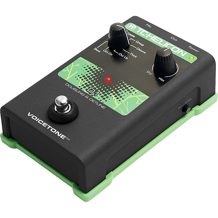 TC Helicon VoiceTone Single D1 Doubling & Detune