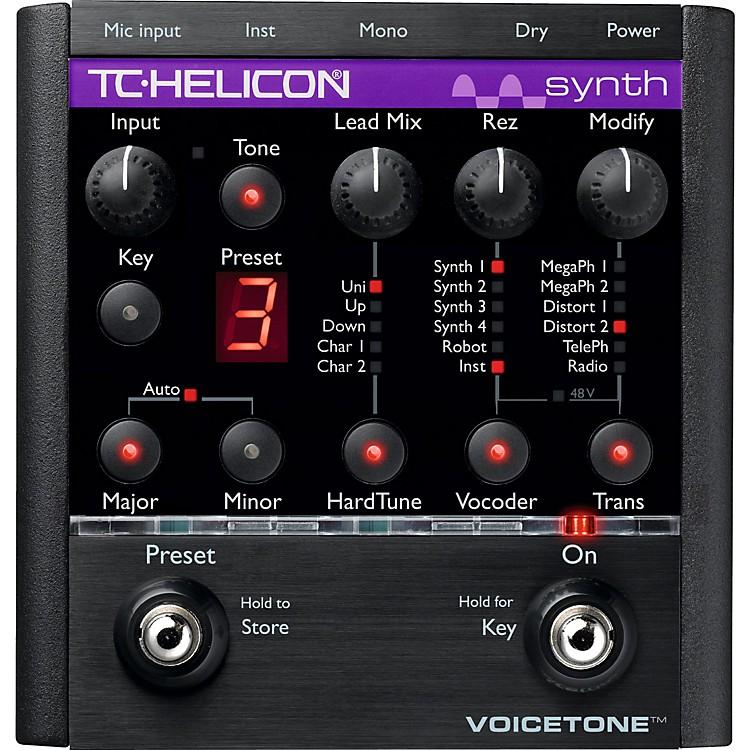 TC HeliconVoiceTone Synth HardTune & Vocoder Pedal