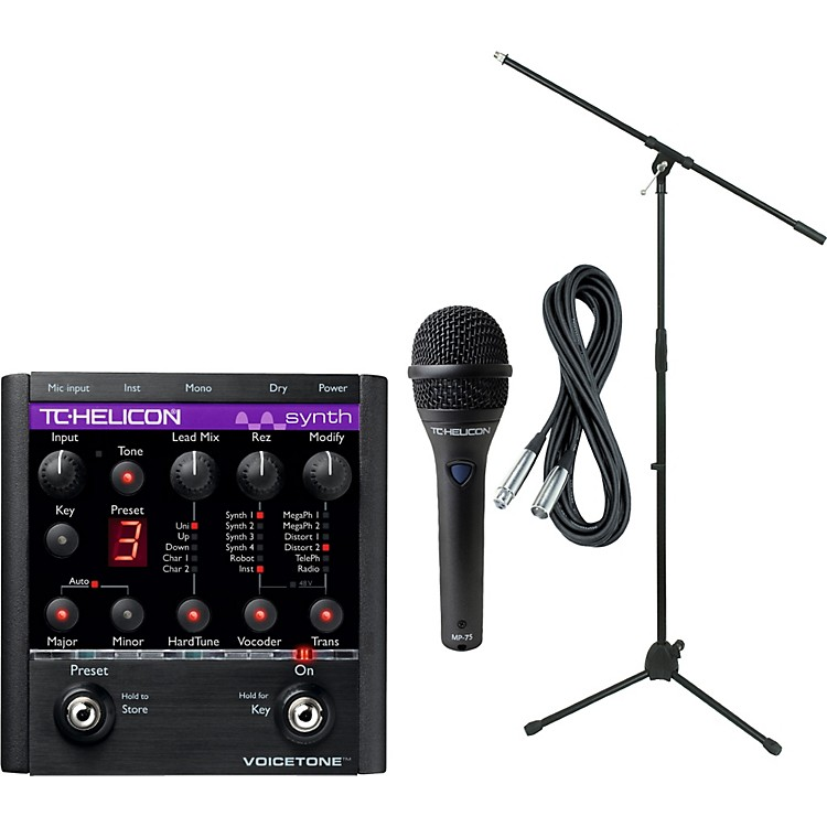 TC Helicon VoiceTone Synth with MP-75 Mic