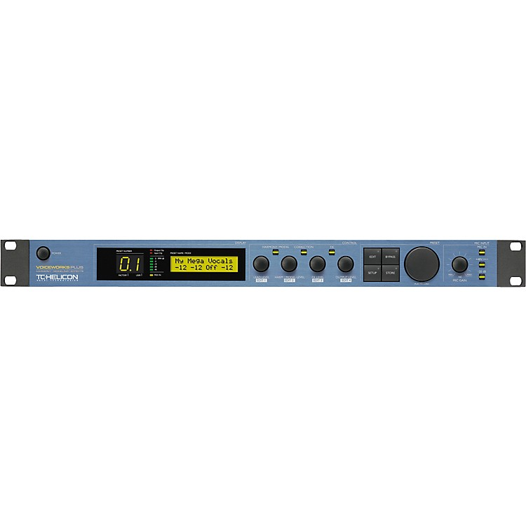 TC HeliconVoiceWorksPlus Vocal Harmony, Modeling and Effects Processor