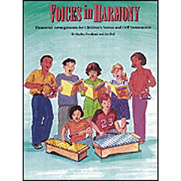 Hal LeonardVoices in Harmony - Orff Collection Book