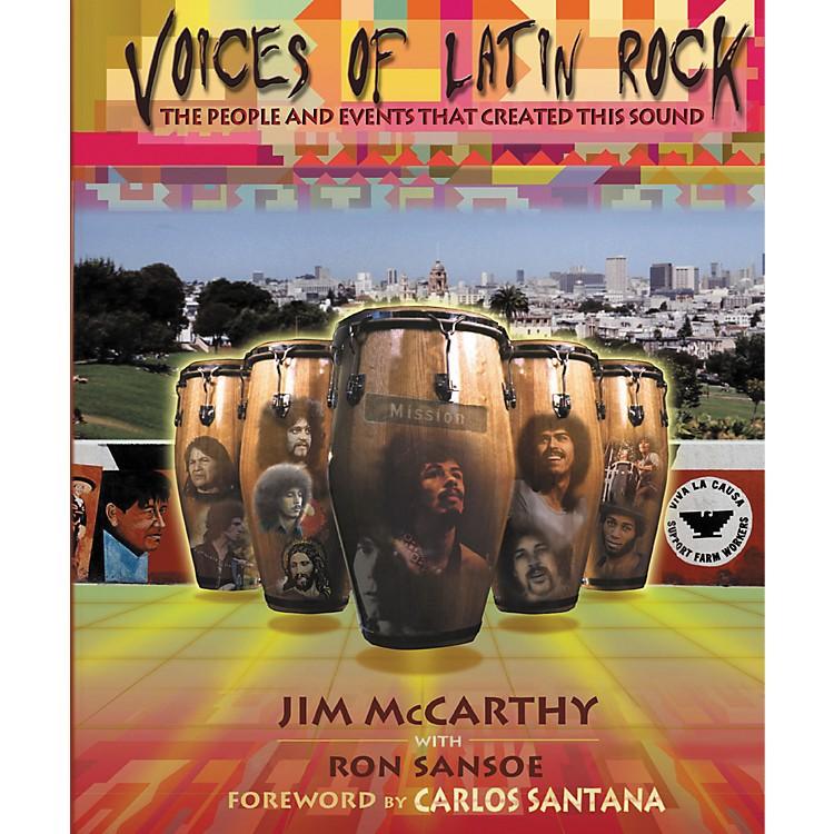 Hal LeonardVoices of Latin Rock Book