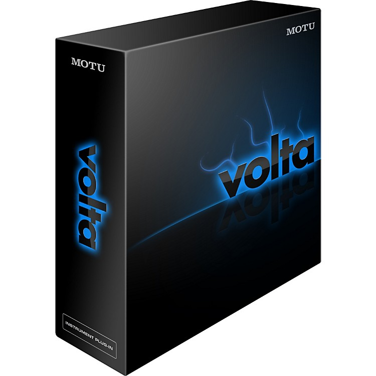 MOTU Volta Voltage Control Instrument Plug-In