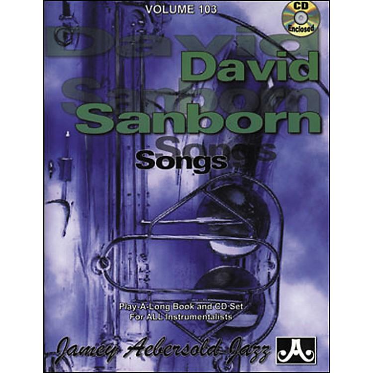 Jamey AebersoldVolume 103 - David Sanborn - Play-Along Book and CD Set