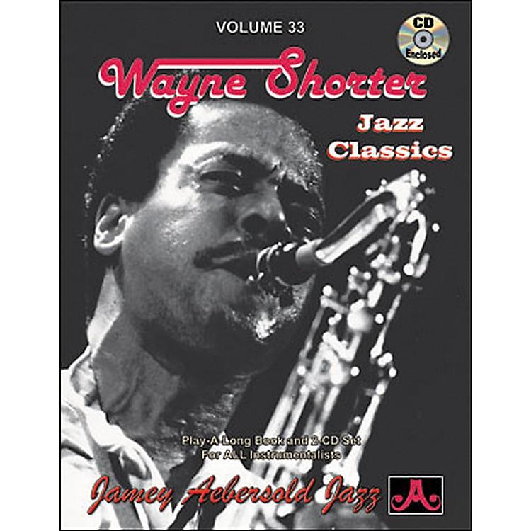 Jamey AebersoldVolume 33 - Wayne Shorter - Book and CD Set