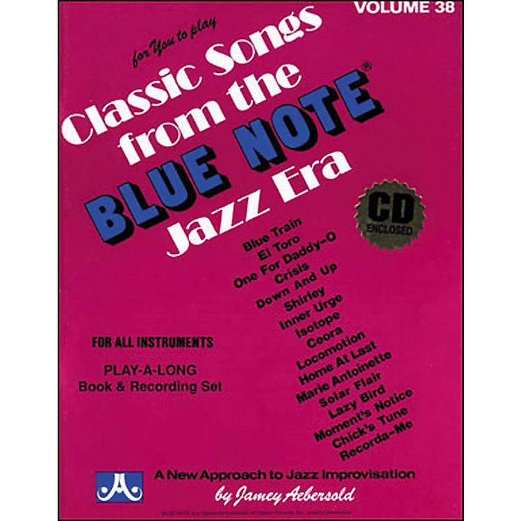 Jamey AebersoldVolume 38 - Blue Note - Play-Along Book and CD Set