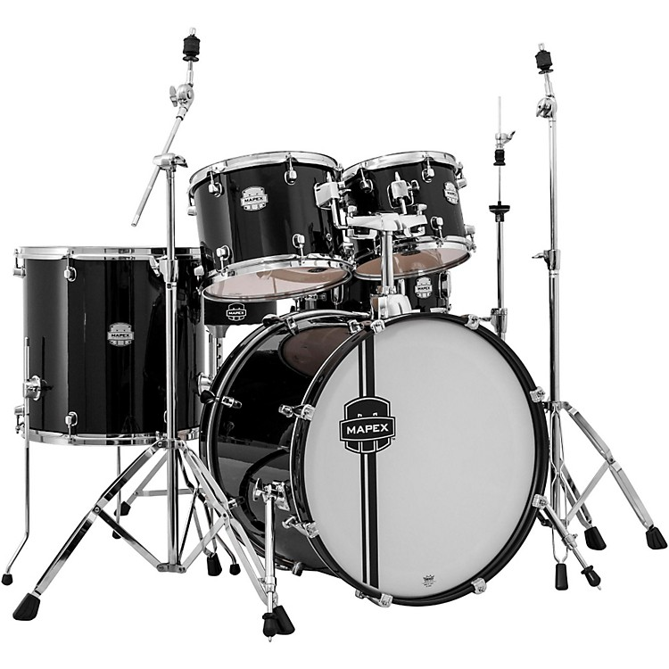 MapexVoyager 5-Piece Rock Drum SetBlack