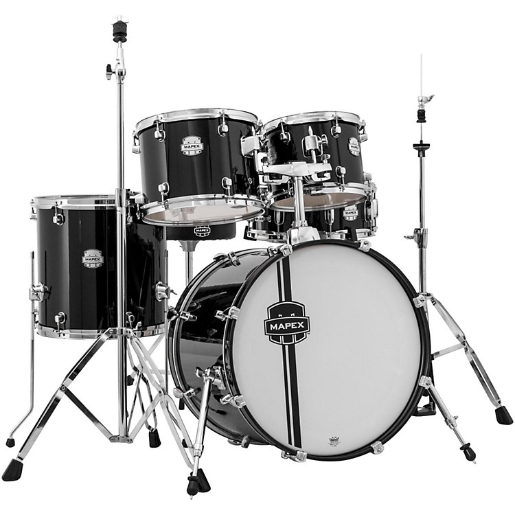 Mapex Voyager Jazz Drum Set Black