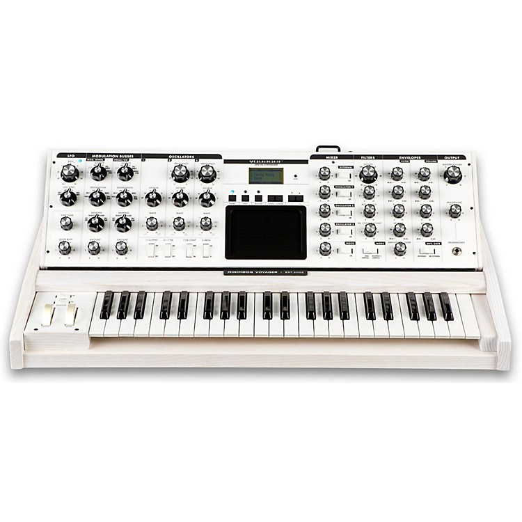 Moog Voyager Performer Edition Synthesizer White