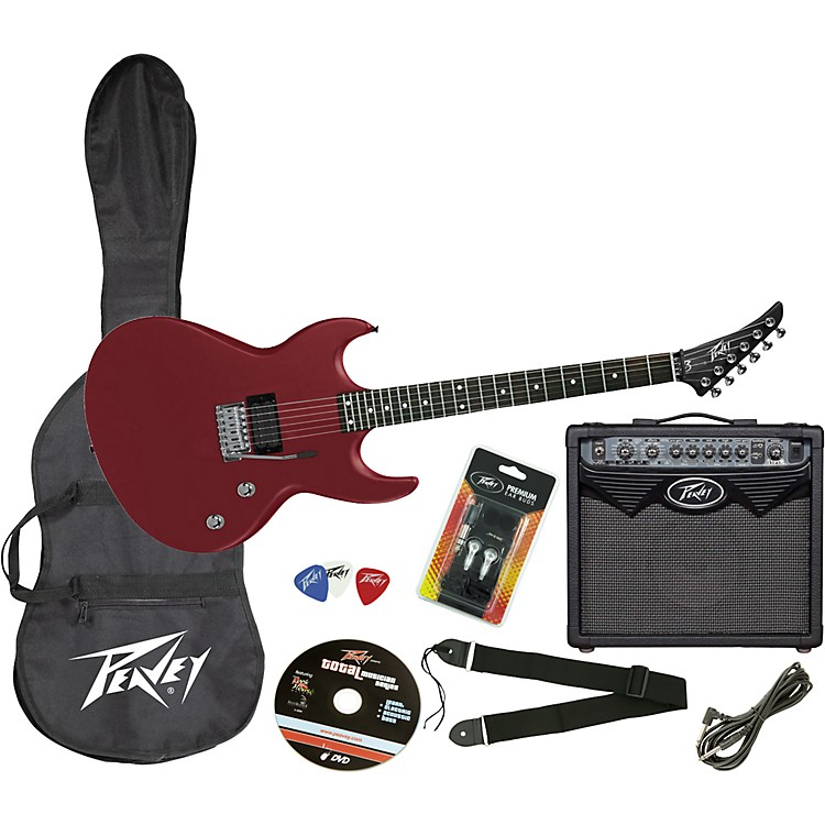 Peavey Vypyr Electric Guitar Stage Pack Satin Blood Red