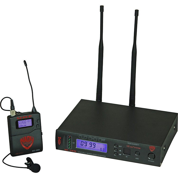Nady W-1KU Omnidirectional Lavalier Wireless System Band 1
