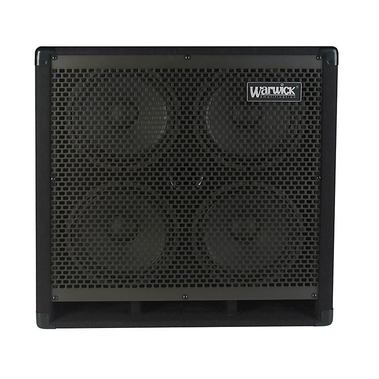 WarwickWCA410 400W 4x10 Bass CabBlack4 Ohm