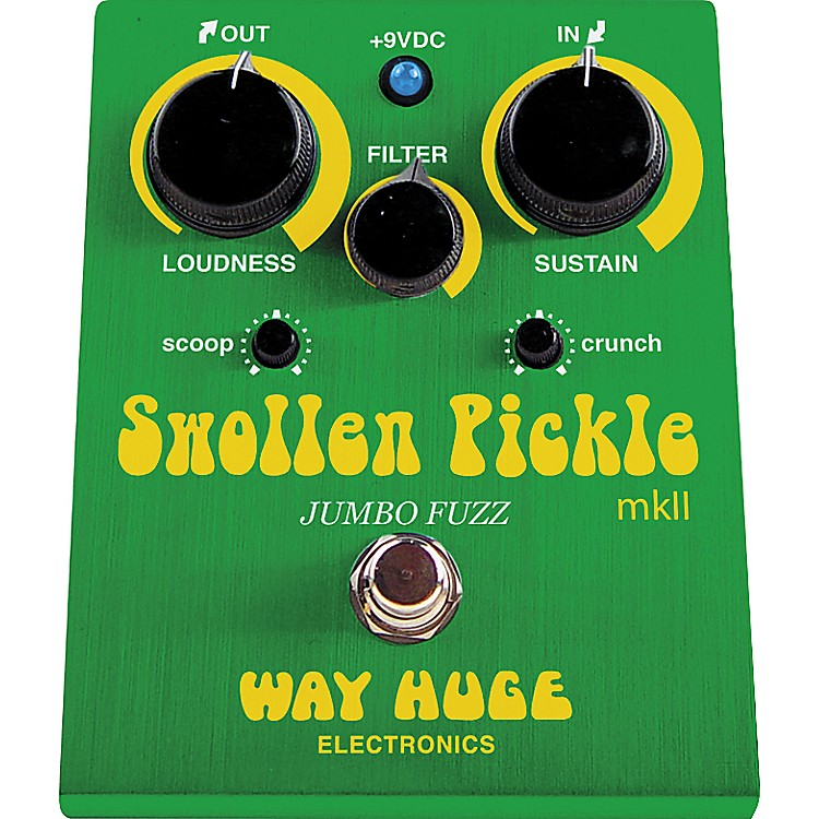 Way Huge ElectronicsWHE401 Swollen Pickle mkII Jumbo Fuzz Guitar Effects Pedal
