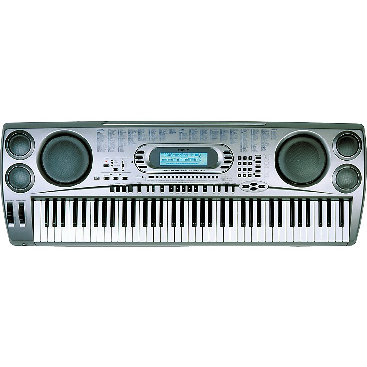 casio wk 1630 76 key keyboard music123. Black Bedroom Furniture Sets. Home Design Ideas