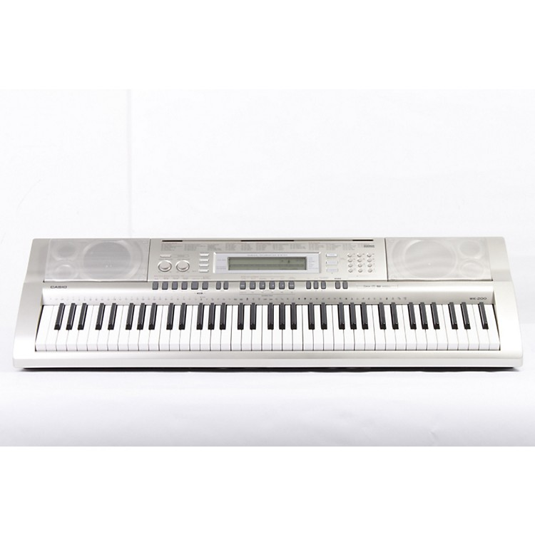 Casio WK-200 76-Key Digital Keyboard Workstation Regular 886830471193